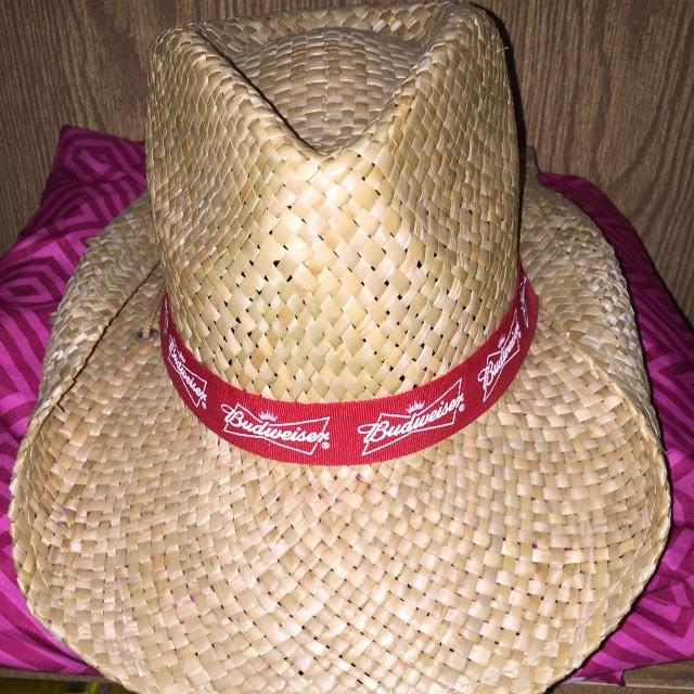 Find more Budweiser Cowboy Hat for sale at up to 90% off 4266225a55a