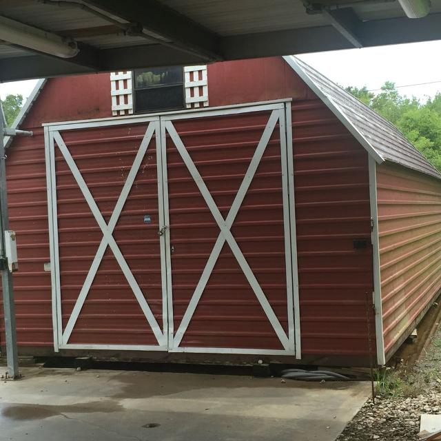 Morgan 14x24 Storage Shed