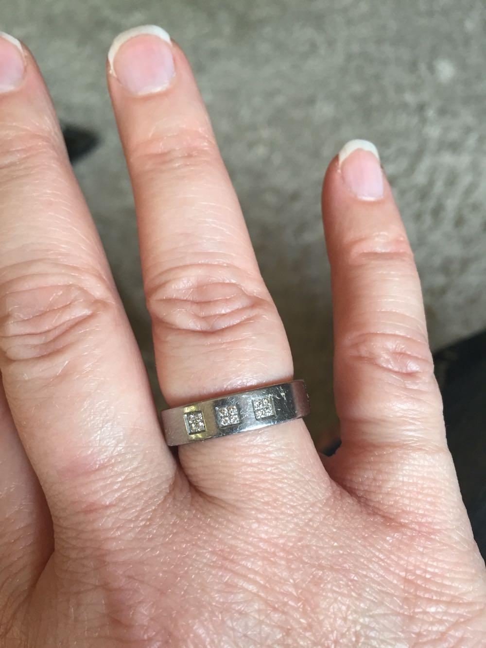 Best Teno Deluxx Diamond Ring Yunis With 12 Diamonds - Womens for ...