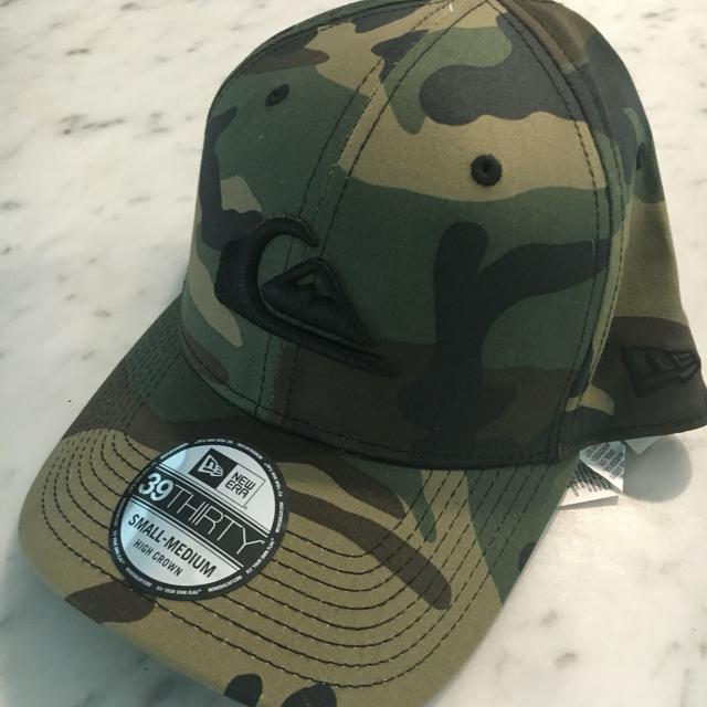 b66972b382c Find more Bnwt Quicksilver Camo Hat. S m for sale at up to 90% off