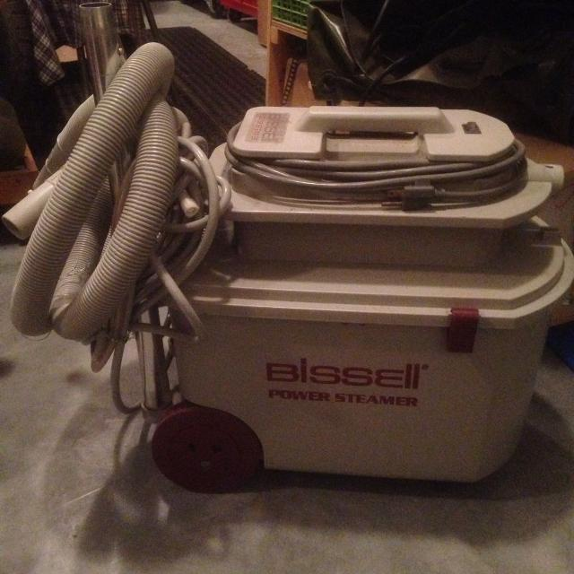 Bissell 1361c Power Steamer With All Parts Will Include Partial Bottle Of Cleaner Reduced From 150