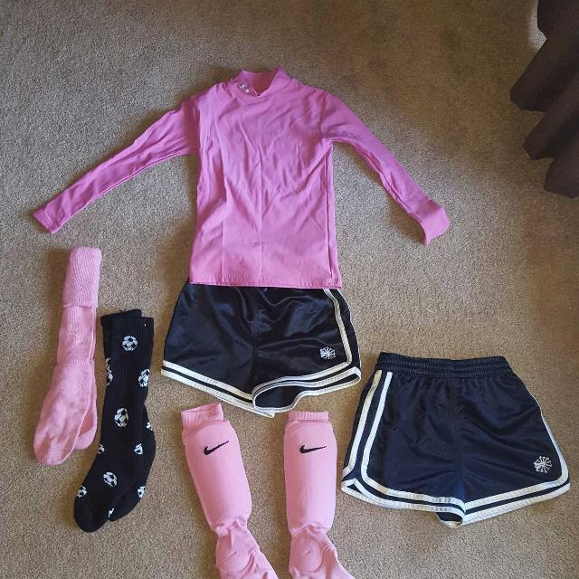 Find more Girls Soccer Set! 2 Pairs M Reebock Shorts. 1 Y L xl Sock ... 907ab9866814
