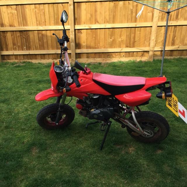 Shineray explorer 50cc pit bike