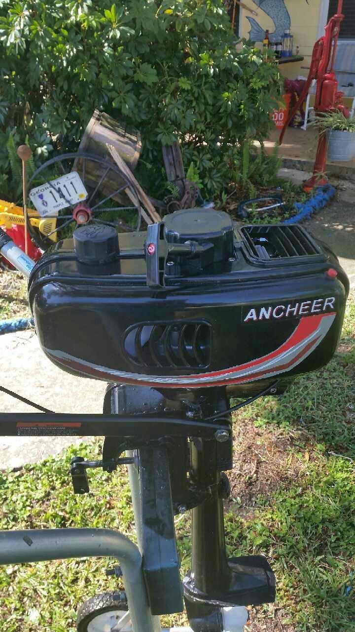 3 5 hp tiller boat motor