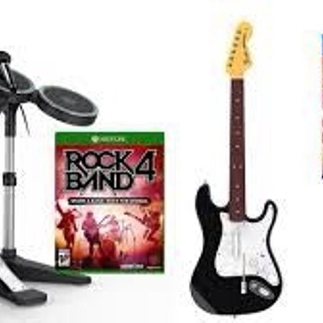 Best Rock Band 4 Full Set Drums Come With Symbols For Sale In