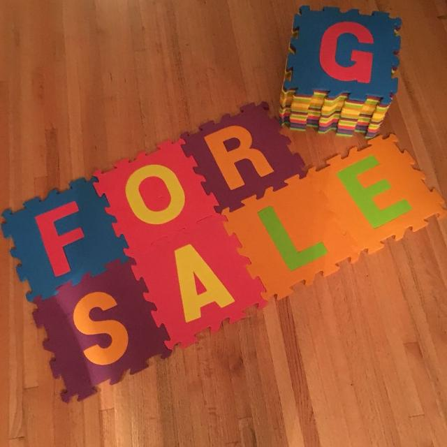 Find more Large Alphabet Foam Floor Tiles for sale at up to 90% off