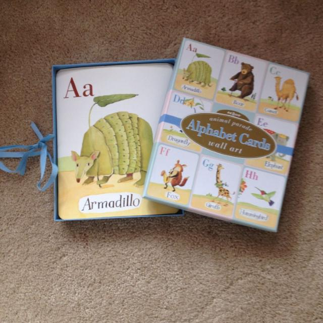 Best Land Of Nod Wall Art Alphabet Cards In Great Condition. Used ...