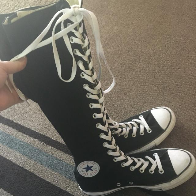 024e95360863 Find more Womens Or Teen Like New Worn Twice Converse All Stars Zip ...