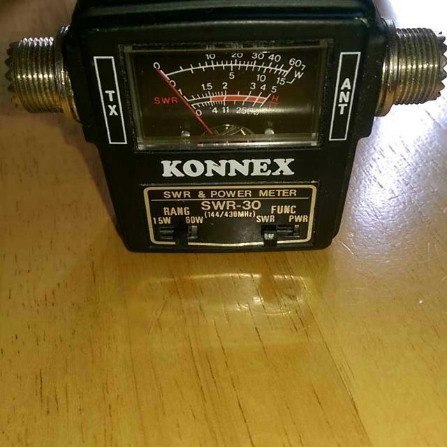 Konnex SWR-30 SWR and POWER Meter