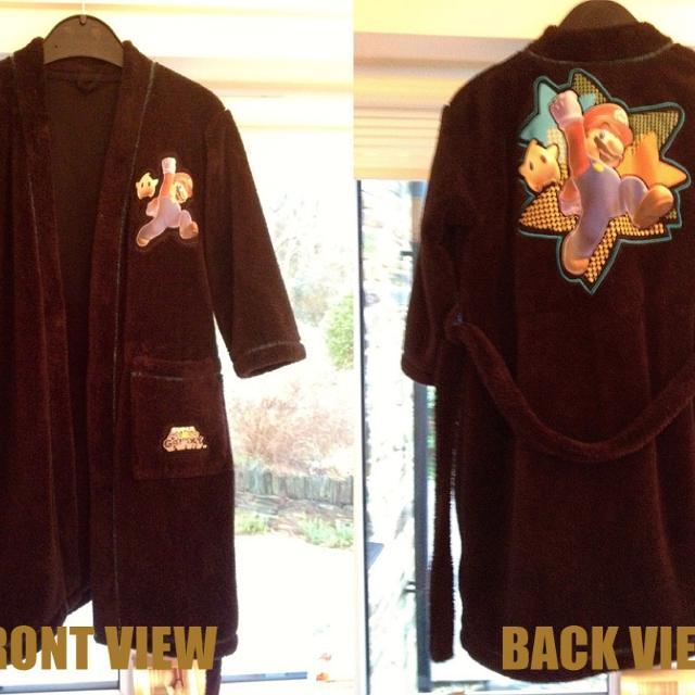 Best M & S Nintendo Super Mario Galaxy Fleece Dressing Gown for sale ...
