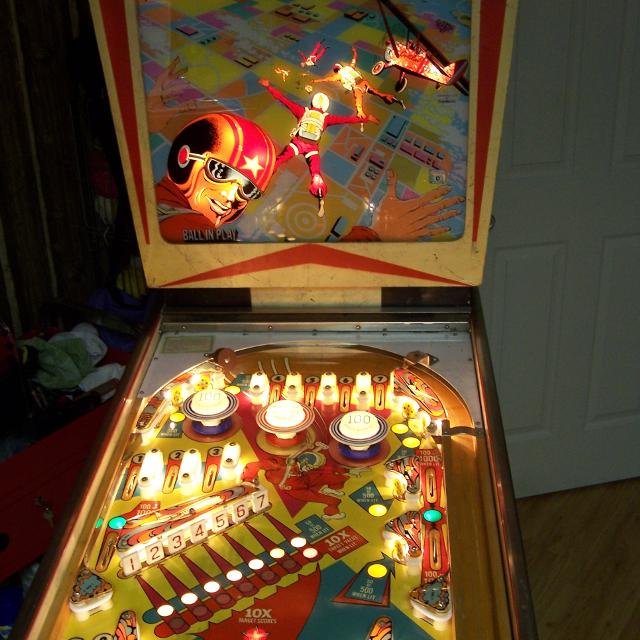 Find More 1974 Gottlieb Sky Jump Pinball For Sale At Up To 90 Off