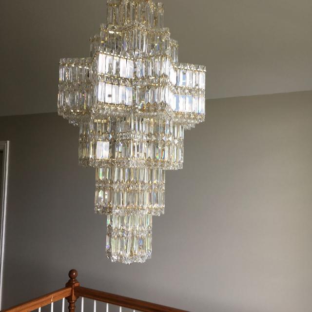 Best schonbek equinoxe 35 light crystal chandelier for sale in schonbek equinoxe 35 light crystal chandelier aloadofball Images
