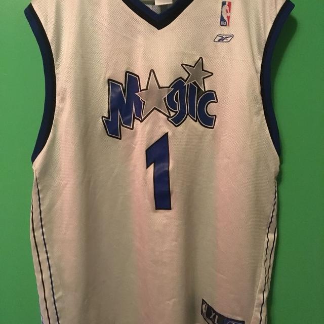 the latest 762e9 9be26 Authentic Tracy McGrady Orlando Magic Jersey XL