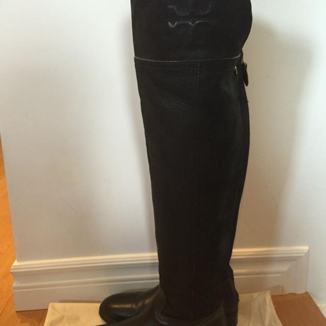 d81401b0ad53 Find more Tory Burch Simone Over The Knee Boot for sale at up to 90% off