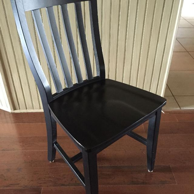 find more price reduced 4 pottery barn schoolhouse chairs for sale