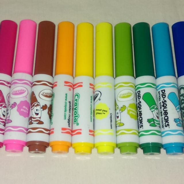 Find more Crayola Pip-squeaks Small Size/big Color Markers - Set Of ...