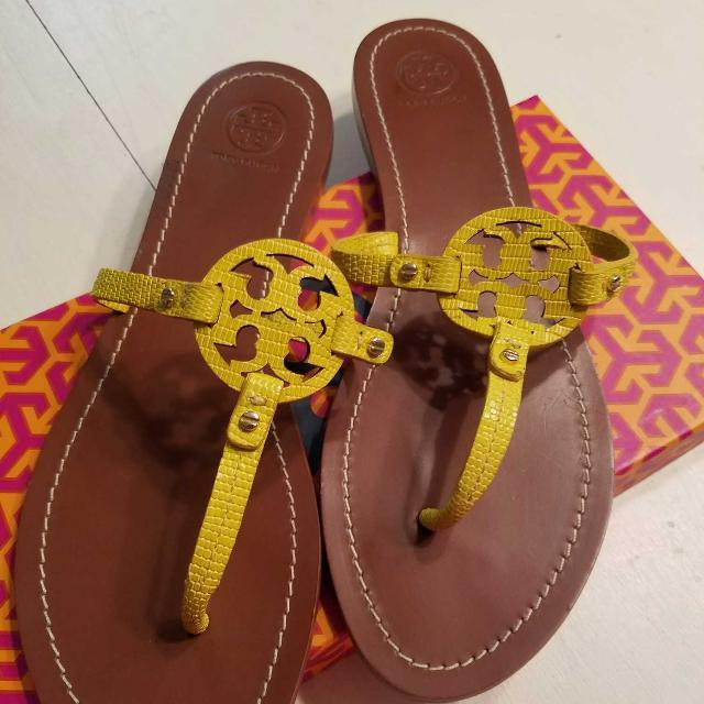 1b5bdd66ef2 Best Tory Burch Mini Miller Sandals 9 for sale in Sanford