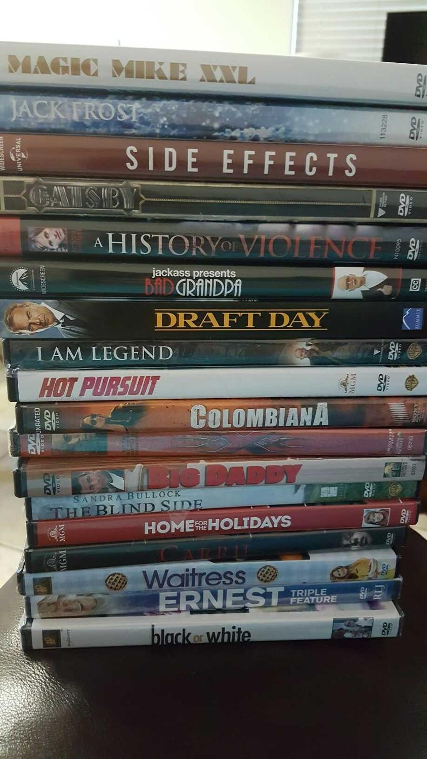 Dvds some brand new some used