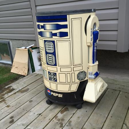 STAR  WARS  R2D2 COOLER for sale  Canada