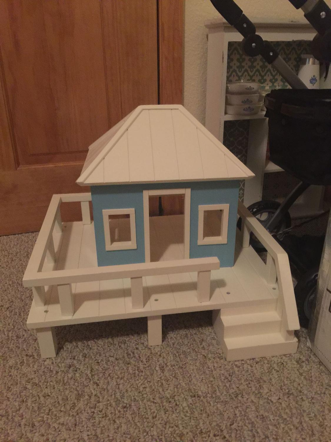 Best Pottery Barn Beach House Dollhouse For Sale In