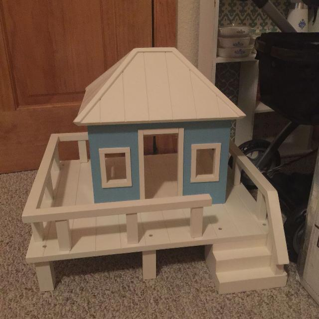 Best Pottery Barn Beach House Dollhouse For Sale In