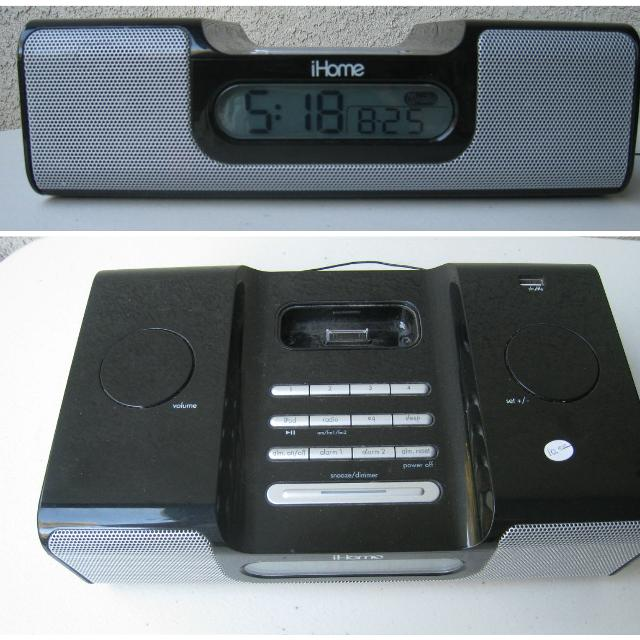 Find more Ihome Ih6 Dual Alarm Clock Radio for sale at up to