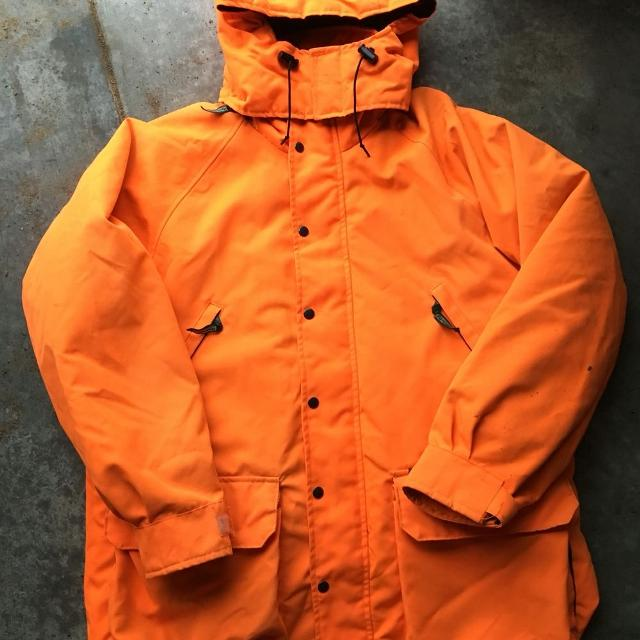 3a0358de6a554 Find more Remington 2 In 1 Blaze Orange Hunting Jacket for sale at ...