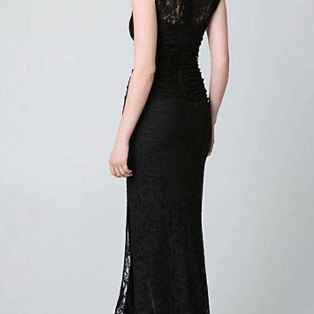 Best Corded Lace V Neck Gown. Le Chateau Xxs for sale in Winkler ...