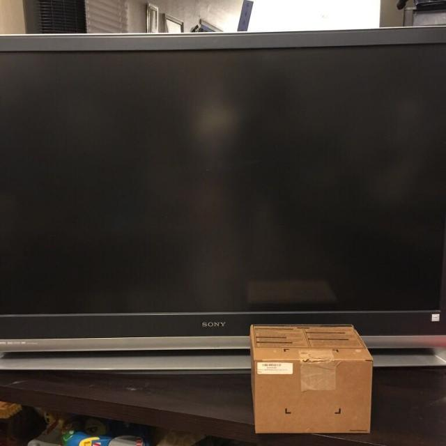 best 50 inch sony wega tv and tv stand for sale in surprise arizona