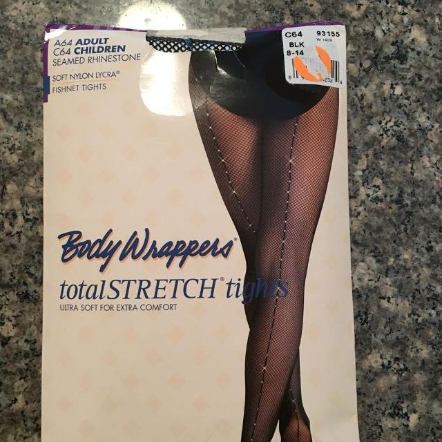 272cad67a4acb Best Body Wrappers Seamed Rhinestone Fishnet Tights for sale in Port Huron,  Michigan for 2019