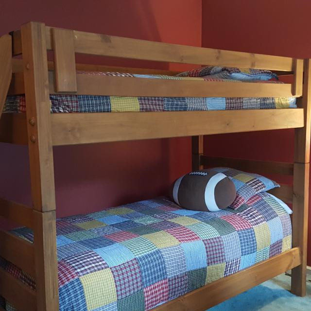 Pier 1 Kids Furniture Wooden Bunk Beds Set