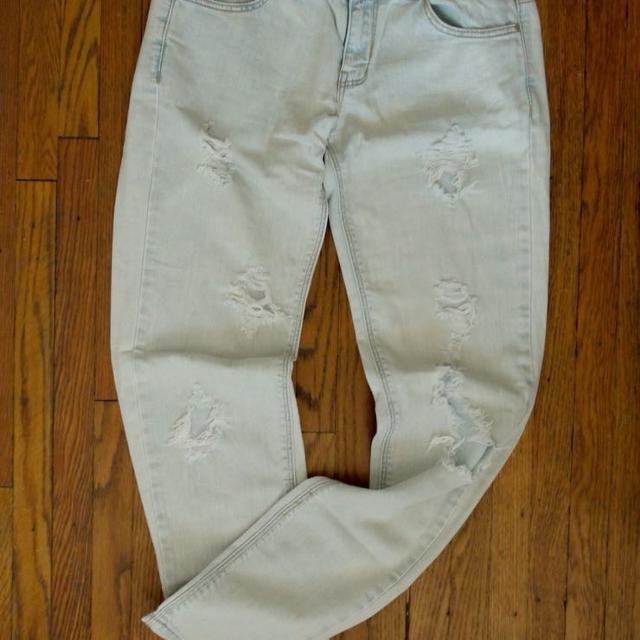 4f7bec68 Best Zara Trf Ripped Denim Jeans for sale in Brockton Village, Ontario for  2019