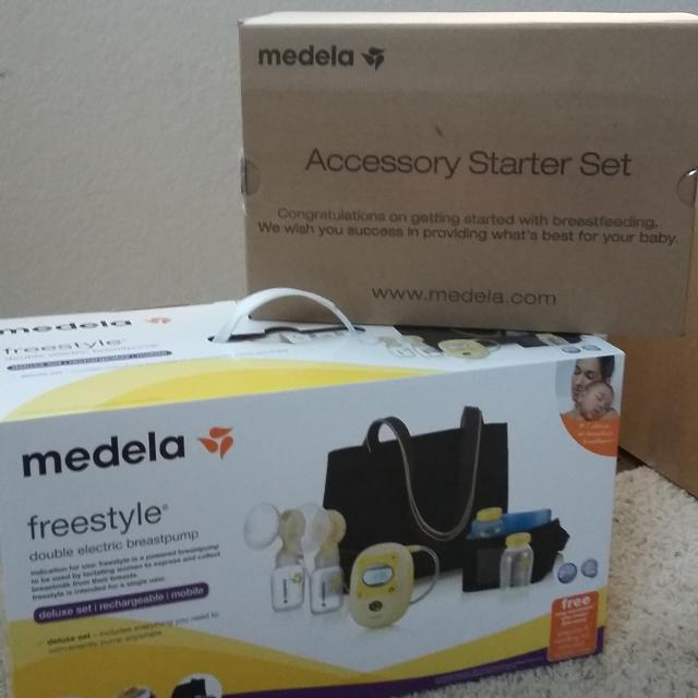 Find More Brand New Sealed Medela Freestyle Double Electric Breast Pump W Starter Set For Sale At Up To 90 Off