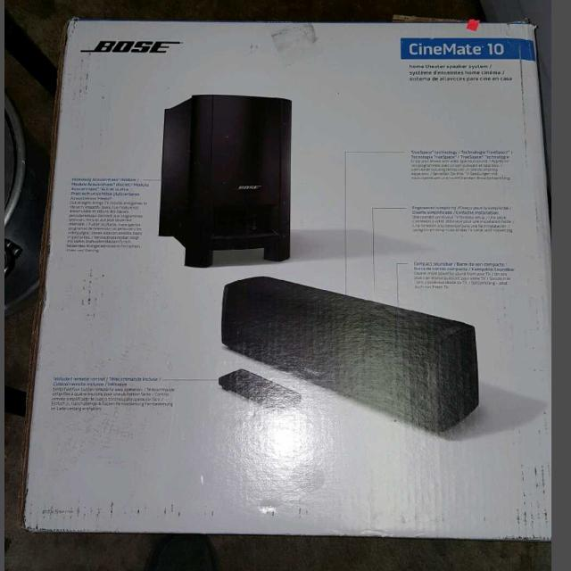 Best Boss Cinemate 10 Home Theater Speakers For Sale In Oakland