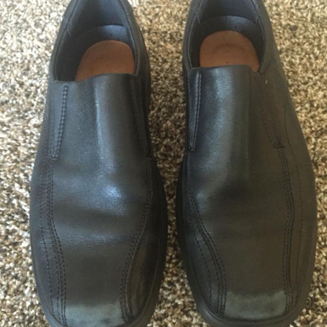 Find More Ecco Size 40 Black Dress Shoes Scuffed On Toes Size 6 65