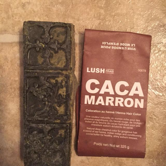 Find More Lush Caca Marron Henna Hair Dye For Sale At Up To 90 Off