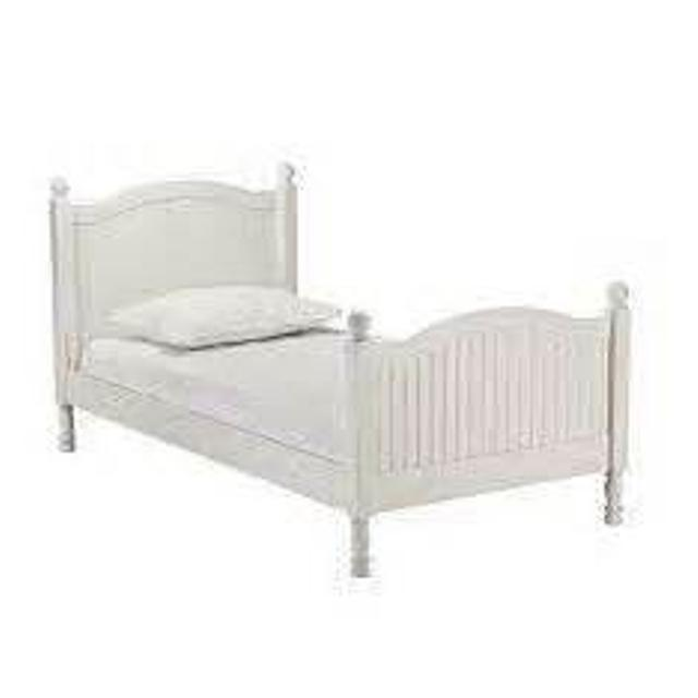 Pottery Barn Kids Catalina Twin Bed White
