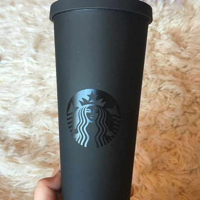 0c0ac92b6dd Matte Black Starbucks cup