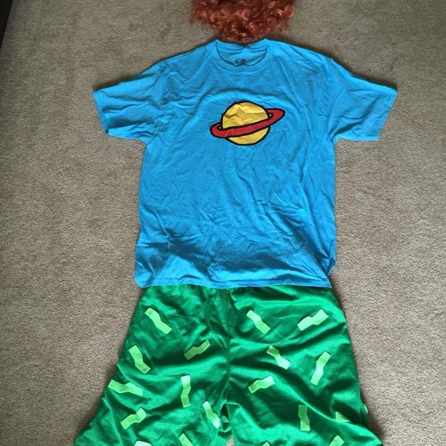 homemade adult rugrats chuckie costume