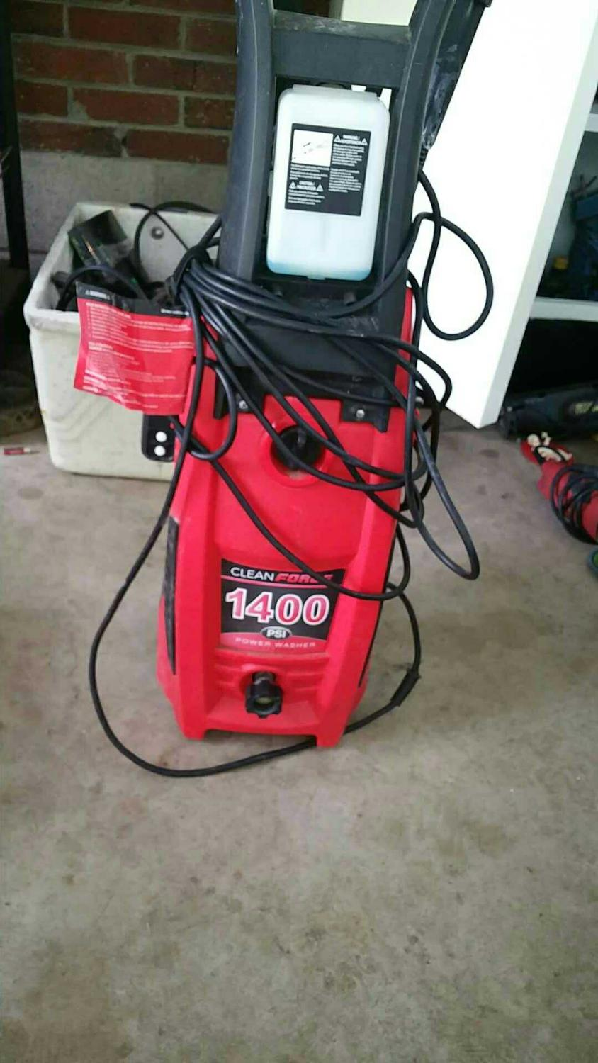 1400 Best Images About Art Of The Oracle On Pinterest: Best Clean Force 1400 Psi Pressure Washer For Sale In Mt