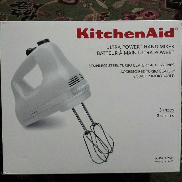Kitchenaid Hand Mixer 3 Speeds