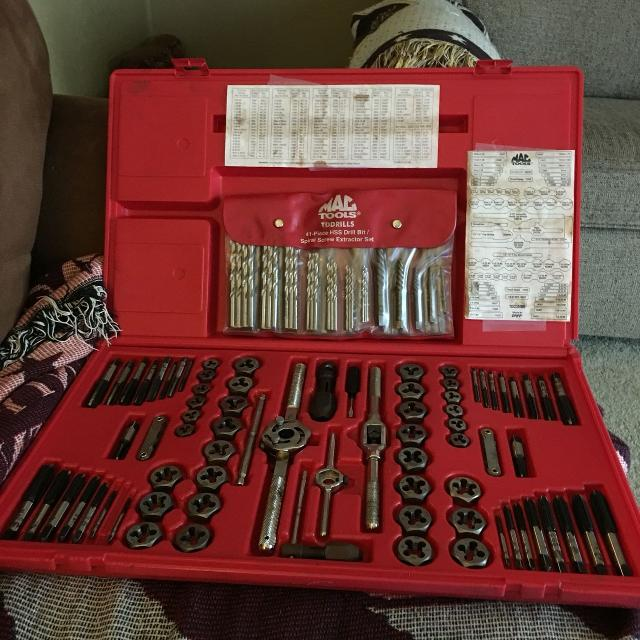 Best Mac Tools Tap And Dye Set For Sale