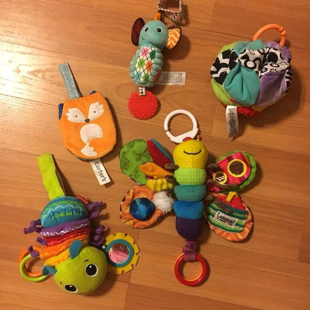 Find more Lot Of Car Seat Toys. Lamaze, Infantino, Etc. for sale at