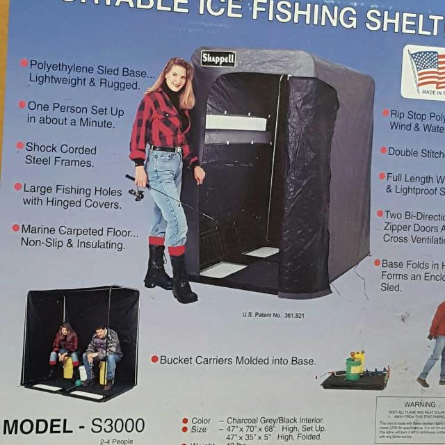 Shappell Portable Ice Fishing Shelter
