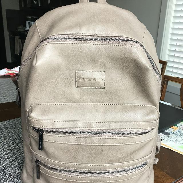 Honest Company City Backpack Diaper Bag Travel