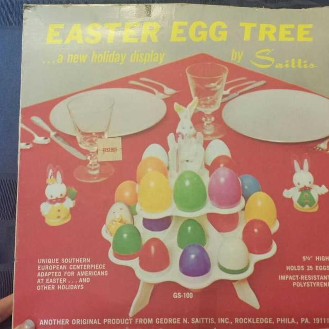 Best Vintage Easter Egg Tree For Sale In Baton Rouge Louisiana For 2019