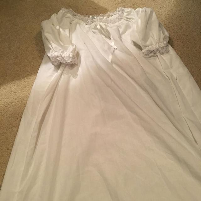 Best American Girl White Old-fashioned Rebecca Nightgown Size Small ...