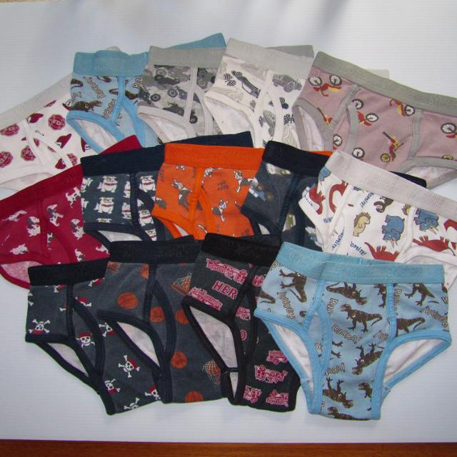81ee32a9ab Find more 14 Pair Gymboree Boys Underwear Lot Size S 5 6 for sale at ...