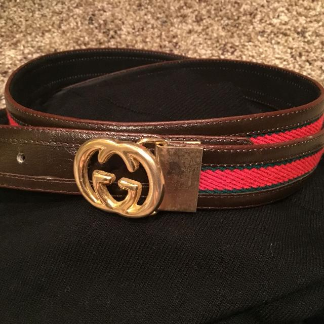 b8a4e0050d9 Find more Vintage All Leather 100% Authentic Gucci Belt. For Men Or ...