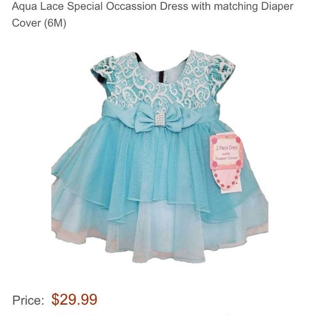 Find More 6m Jona Michelle Dress And Diaper Cover Nwt For Sale At Up